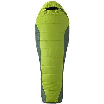 Marmot Kunstfaserschlafsack Cloudbreak 30 - Saco de dormir momia para acampada (fibra sintética, hasta 0,49 kg), color verde, talla LZ: Amazon.es: Deportes ...
