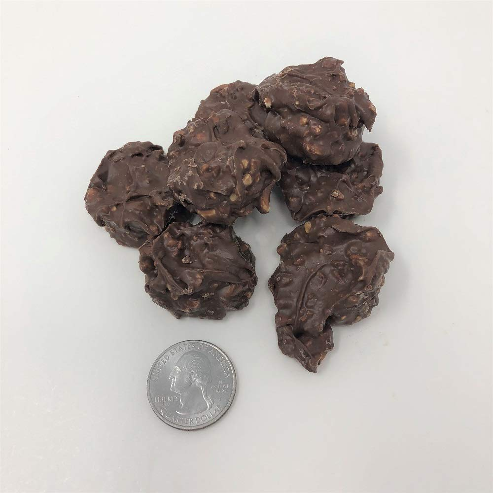 Asher's Sugar Free Peanut Clusters Milk Chocolate Candy 1 pound