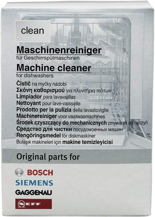 Máquina Limpiador Limpiador Lavavajillas BSH clean Bosch/Siemens 311313