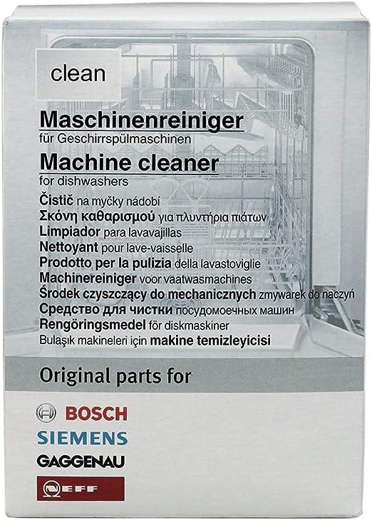Máquina Limpiador Limpiador Lavavajillas BSH clean Bosch/Siemens ...