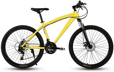 D&XQX Bicicletas de montaña, 26 Pulgadas Ruedas Grandes para Bicicleta de montaña Rígidas, Marco de Aluminio Overdrive montaña Bicicleta de Pista, Hombres Mujeres Bicicletas: Amazon.es: Deportes y aire libre