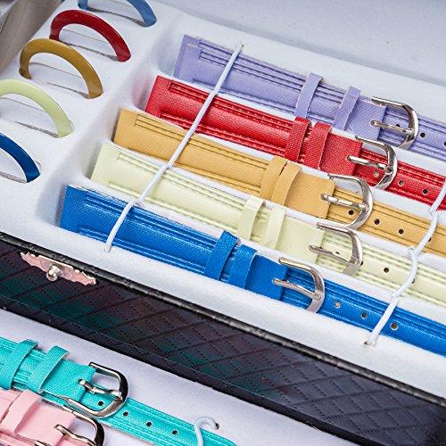 2b78013005f LGI Interchangeable Premium Gift Set Ladies Watch set - customizable Multi  band wristwatch - Color Vary