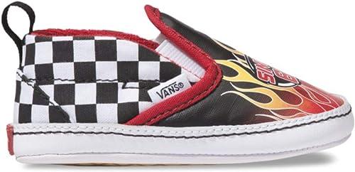 Vans Infant Checker Slip-On Black/True