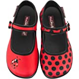 Hot Chocolate Design Mini Chocolaticas Mariquita Girls Mary Jane Flat