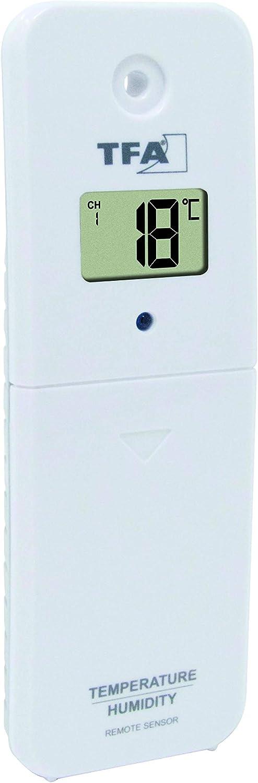 TFA-Dostmann 30.3233.01 /Émetteur de Pluie Noir 190 x 125 x 135 mm