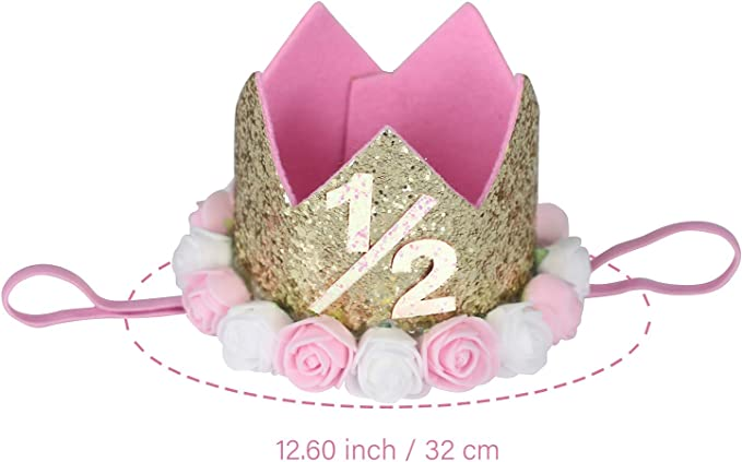 Available for all ages and sizes Colors can be changed Baby girl/'s 1st birthday shirt Princess Crown Tiara Pink and gold sparkle