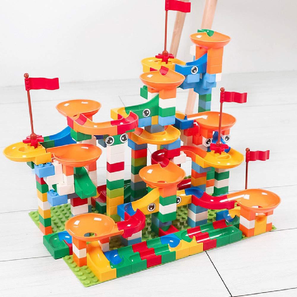 ILYO Bloques De Construcción para Niños Juguetes De Plástico De 3 Años De Edad O Más Viejos Juegos De Niños Y Niñas Juegos De Ensamblar Bloques De Toboganes De Ortografía