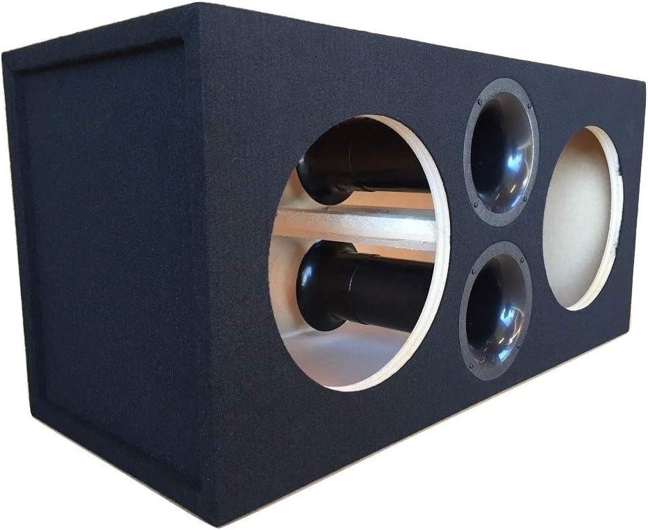 "Custom Sealed Sub Enclosure Subwoofer Box for 2 12/"" Sundown Audio SA-12 Subs"