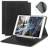 iPad 10.5 インチキーボードケース iPad Pro 10.5 /iPad 10.5 2019 Air 3 ケース ペンスタンド付き オートスリープ 高級PUレザー Bluetooth3.0搭載 多角度調整 脱着式 iPad10.5 インチ対応 GITEKI技術認証 日本語説明書 ブラック