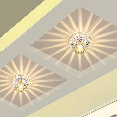 Lámpara de techo Baño piso Cocina Cristal LED cocina Salón ...