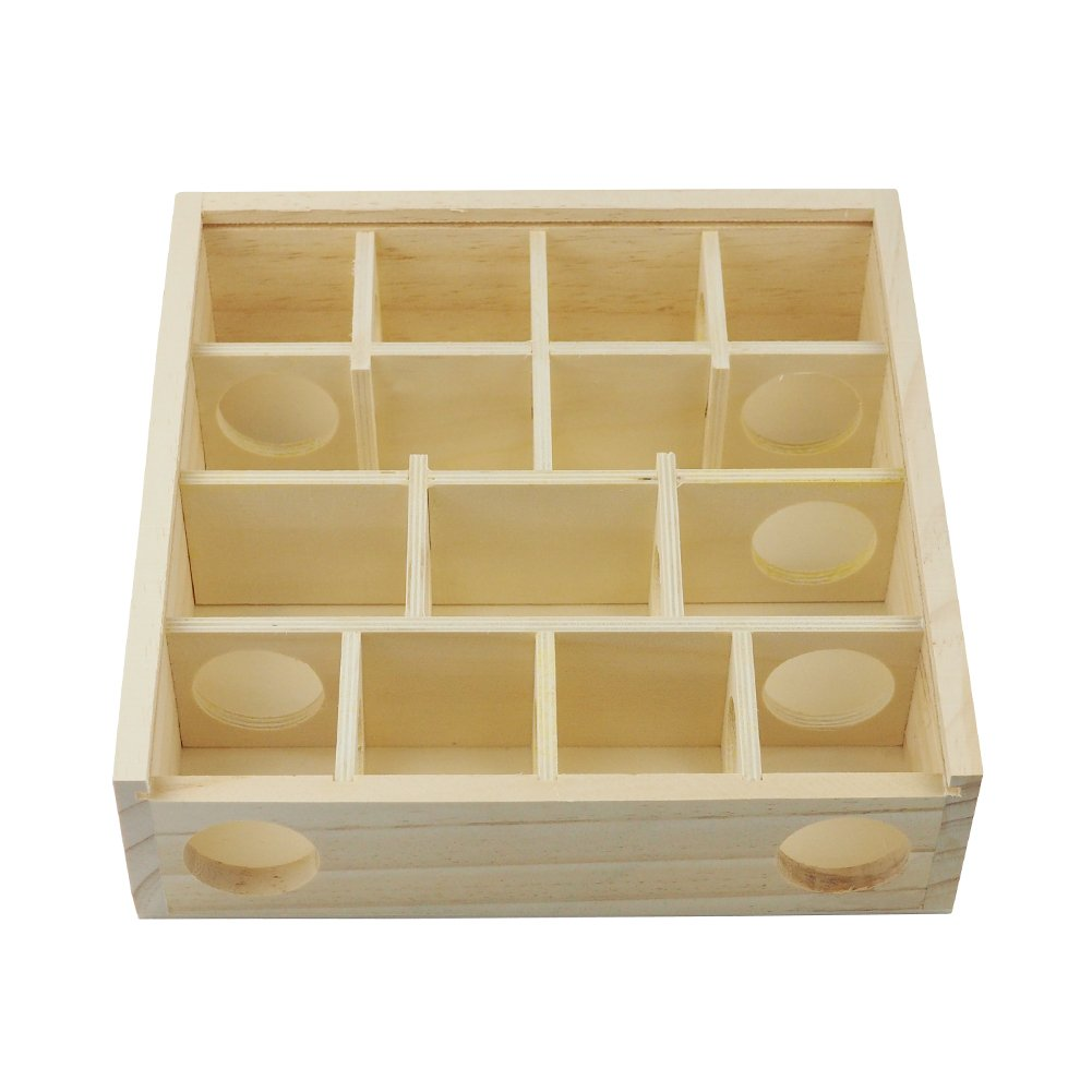 OMEM Pet Hamster Maze,Small Animal Hideout, Pet Mini Hut,Hamster Cabin,Hamster Cages,Pet Wooden Toys,Pet Hamster Toys