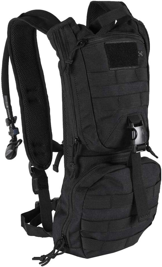 TG Hydration Pack Backpack with 3L Water Bladder 600 Denier with Emergency Whistle Tactical Hiking Biking Outdoor