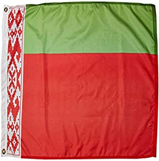 product image for Annin Flagmakers Model 190625 Belarus Flag Nylon SolarGuard NYL-Glo, 2x3 ft, 100% Made in USA to Official United Nations Design Specifications