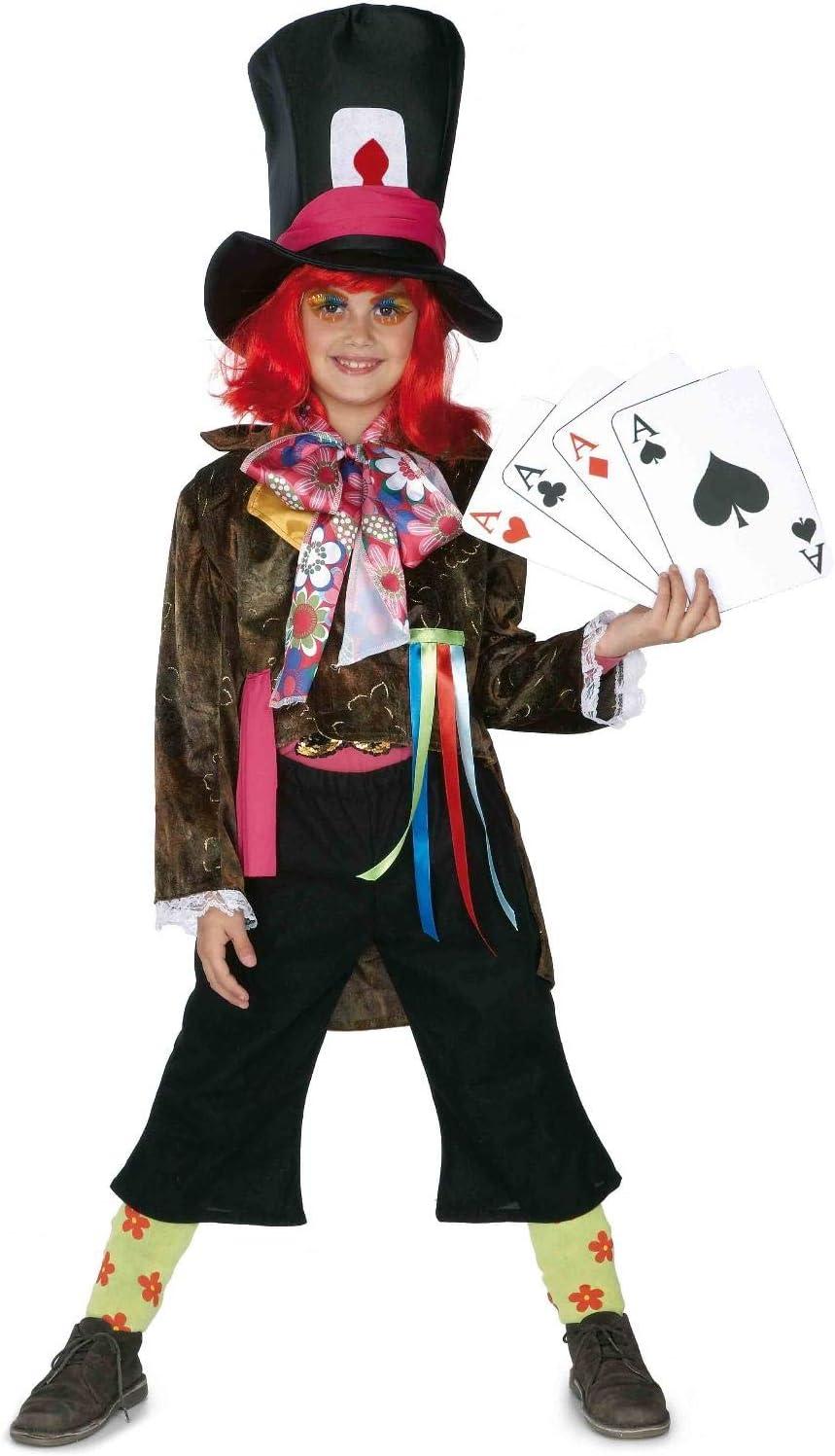 El Rey del Carnaval - Disfraz infantil sombrerero talla 9-11 años ...