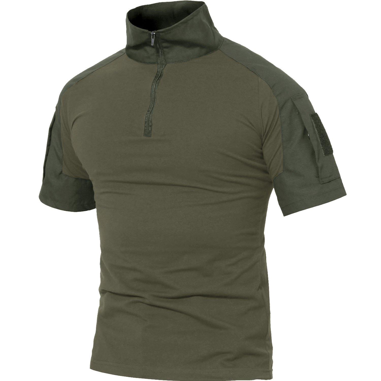MAGCOMSEN Mens T Shirts Tactical Shirts Military Shirts Polo Shirts Hiking Camping Shirts Casual Shirts Short Sleeve by MAGCOMSEN