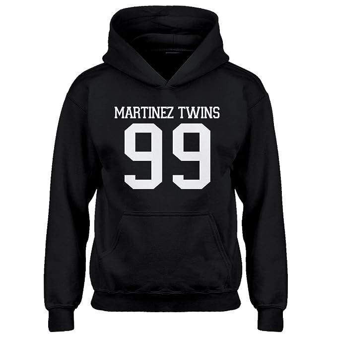 Indica Plateau Kids Hoodie Martinez Twins 99 Youth XS - (4-5) Black