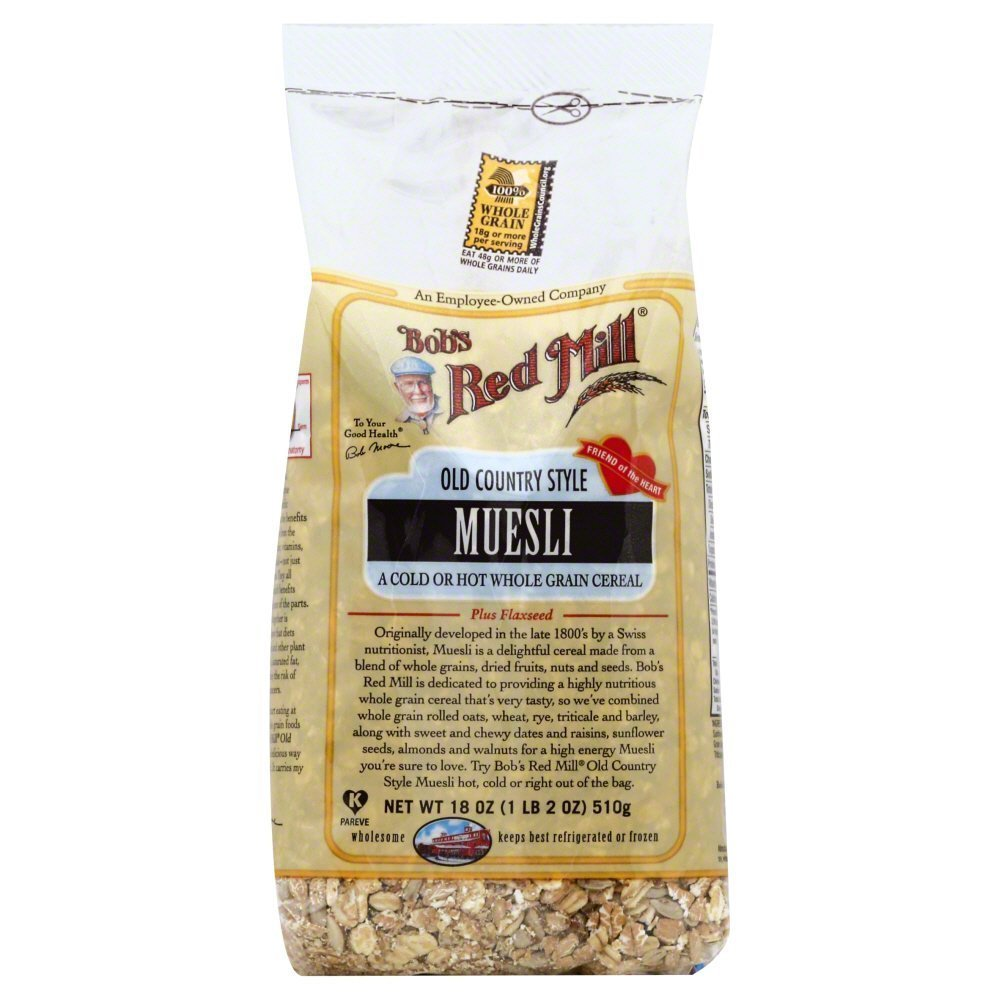 Bobs Red Mill Muesli Old Country Style 18.0 OZ(Pack of 2)