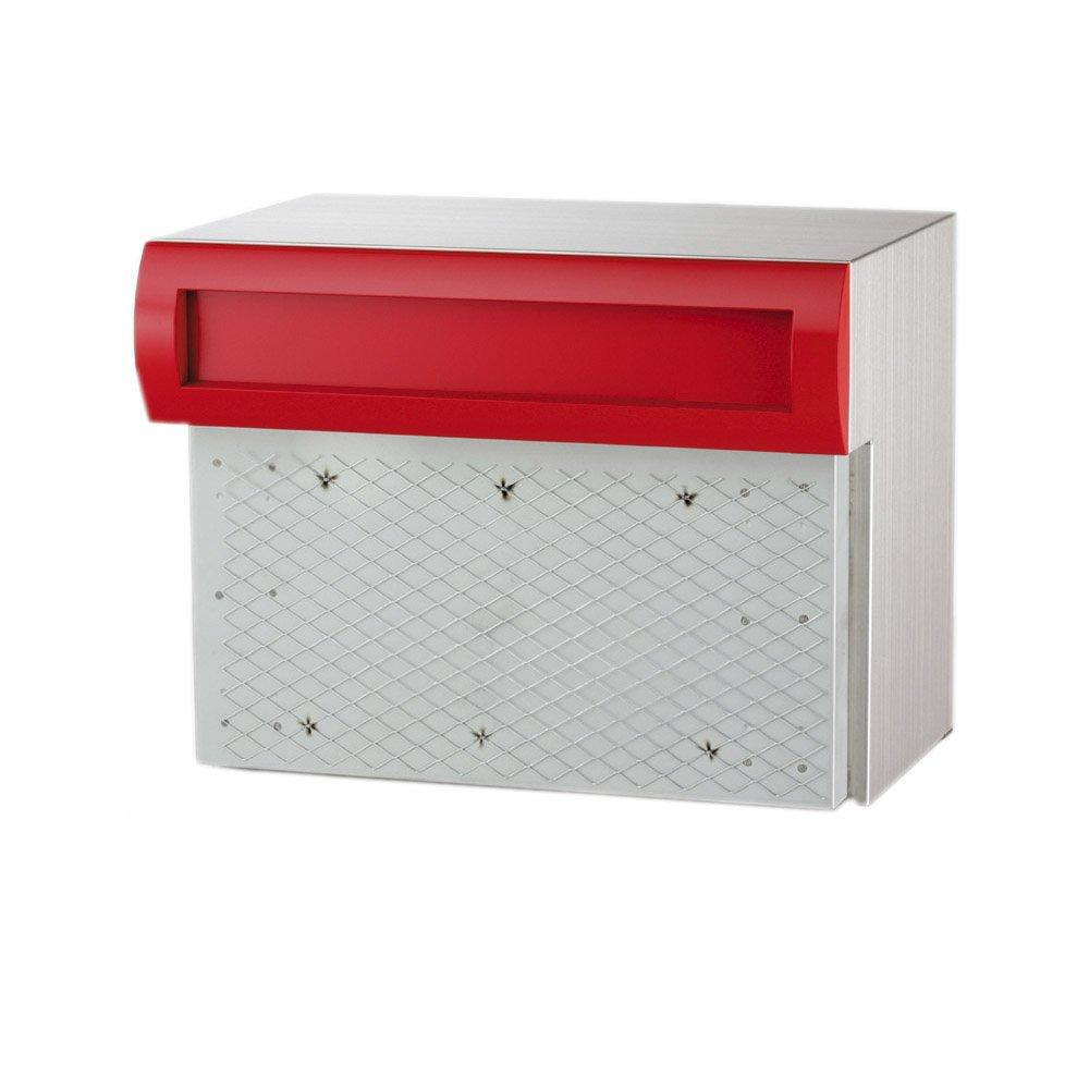 コーワソニア 郵便ポスト SONIA 埋込ボックスタイプ R905R レッド ラッチ錠  レッド B00BN3HZGU
