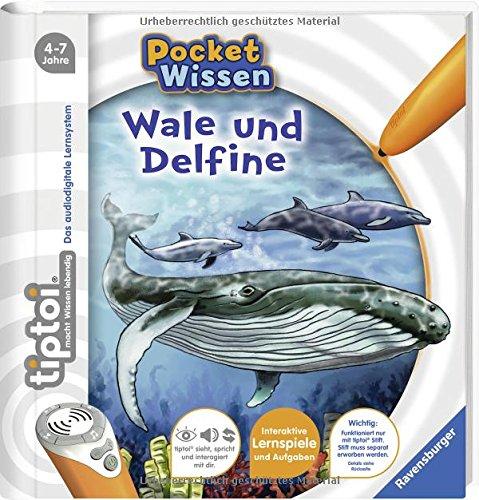 tiptoi Wale und Delfine (tiptoi Pocket Wissen) Spiralbindung – 30. August 2017 Johanna Prinz Katharina Wieker Ravensburger Buchverlag 347355409X