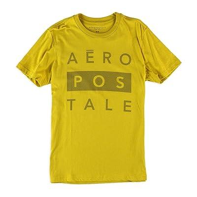 56649b78f Aeropostale Mens Side Striped Logo Graphic T-Shirt