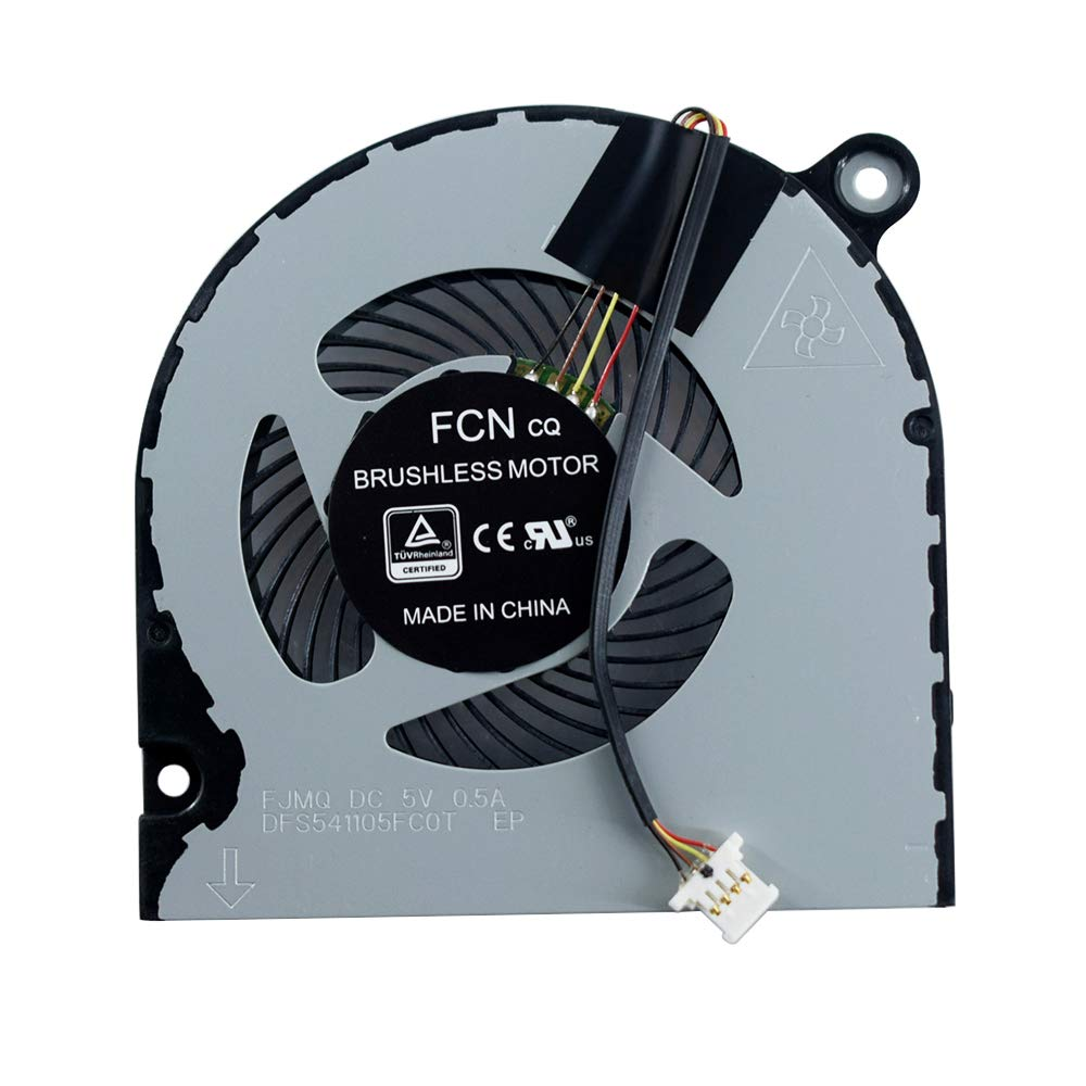 CPU Cooling Fan Compatible for Acer Aspire 3 A315 A314-31 A315-21 A315-31 A315-41 A315-41G A315-51 A315-52 Series Laptop DFS541105FC0T