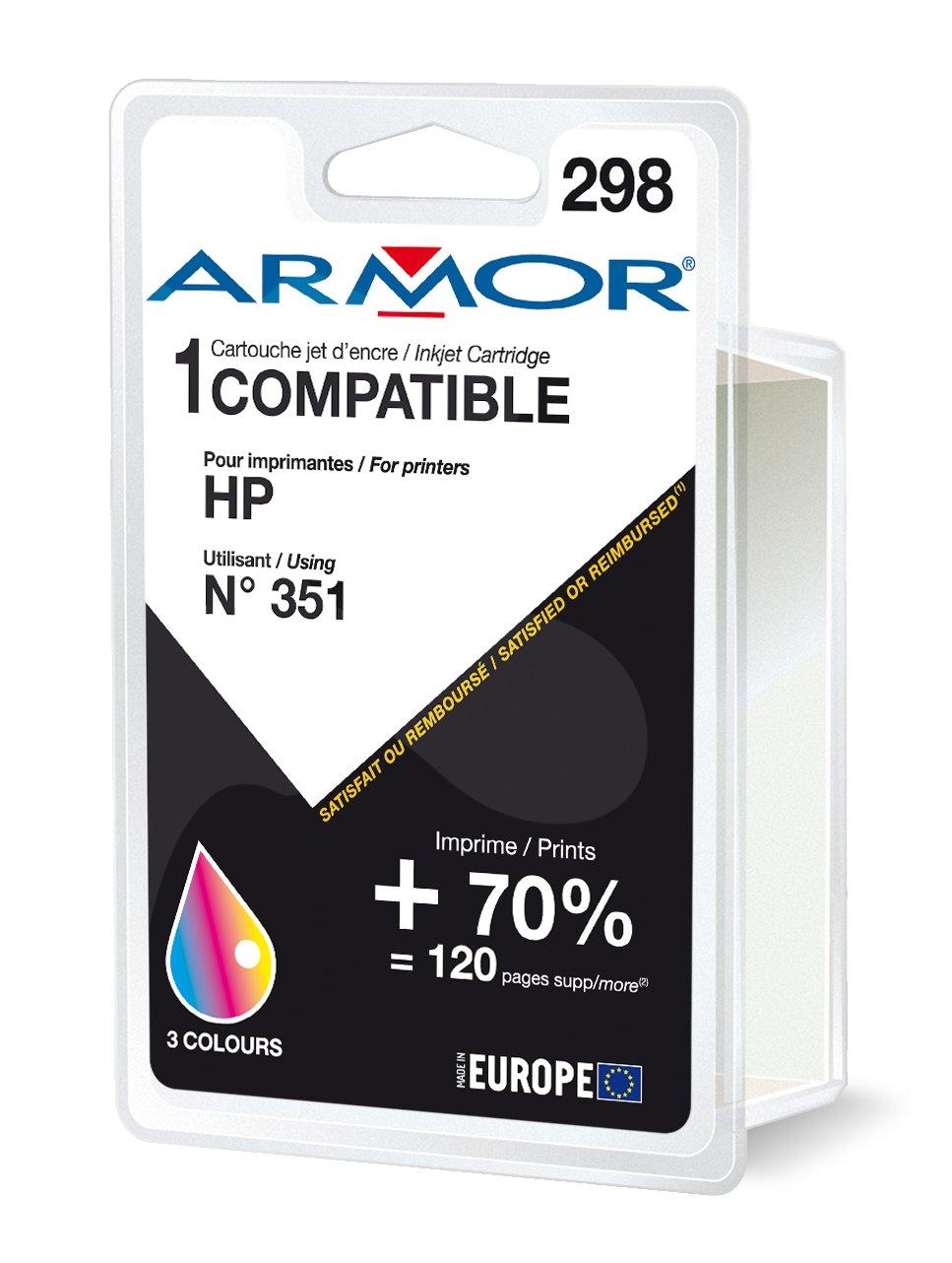 Armor K20272 cartucho de tinta Negro: Amazon.es: Electrónica