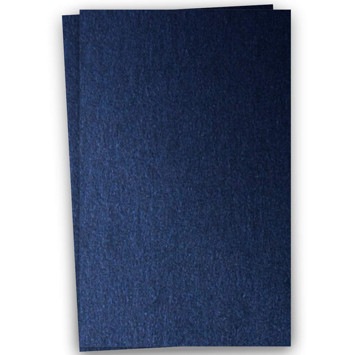 Metallic Dark Blue Lapis 12-x-18 Cardstock Paper 100-pk - PaperPapers 284 GSM (105lb Cover) Large size Metallic Card Stock Paper - Business, Card Making, Designers, Professional and DIY Projects
