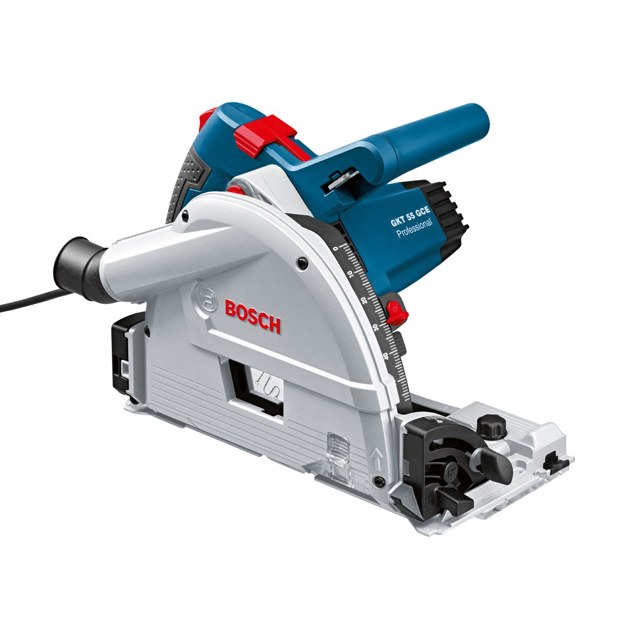 FSN 1600 Bleu Bosch Professional 0601675002 Scie plongeante GKT 55 GCE 1400 W L-BOXX rail non inclus