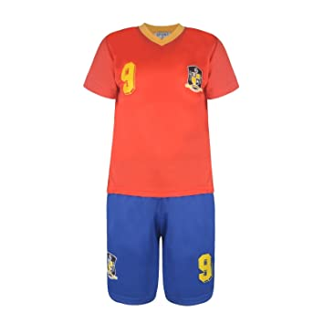 9a6a31e7284 BOYS FOOTBALL KIT SHORT SET SPAIN RED/BLUE #ESPAGNE (2-3 YEARS #2 ...
