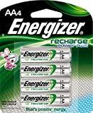: Energizer Recharge Power Plus AA 2300 mAh Rechargeable Batteries, Pre-Charged, 4 count