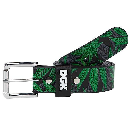 DGK Men's Home Grown Belt Black