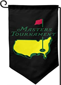 Masters PGA Golf Sports Flag Banner Garden Flag,Garden Sign,Outdoor Sign,Double-Sided,Indoor and Outdoor,Welcome Party.Does Not Fade and is Easy to Install.