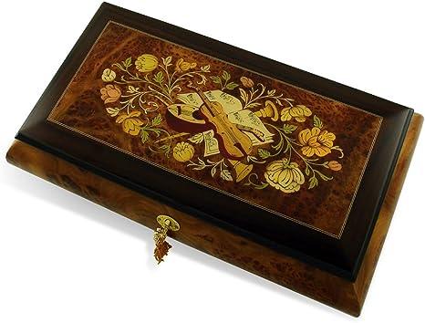 Wooden box decor piano flower box mozart symphony treble clef wood cascet  musical instrument pianist gift teacher gift home wedding decor
