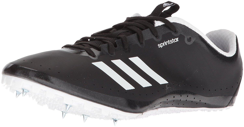 adidas Women's Sprintstar w, core Black/Orange/White, 12 M US by adidas (Image #1)