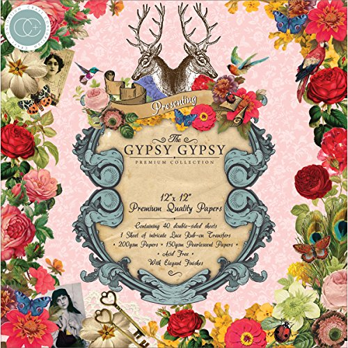 Gypsy Paper Pad - Craft Consortium Double-Sided Paper Pad 12