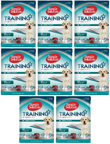 Simple Solution Original Training Pads 400 pk (8x50pk) (Simple Solution Economy Puppy Training Pads)