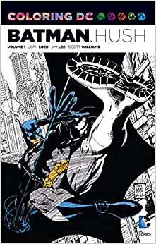 1 dc comics coloring book - Comic Book Coloring