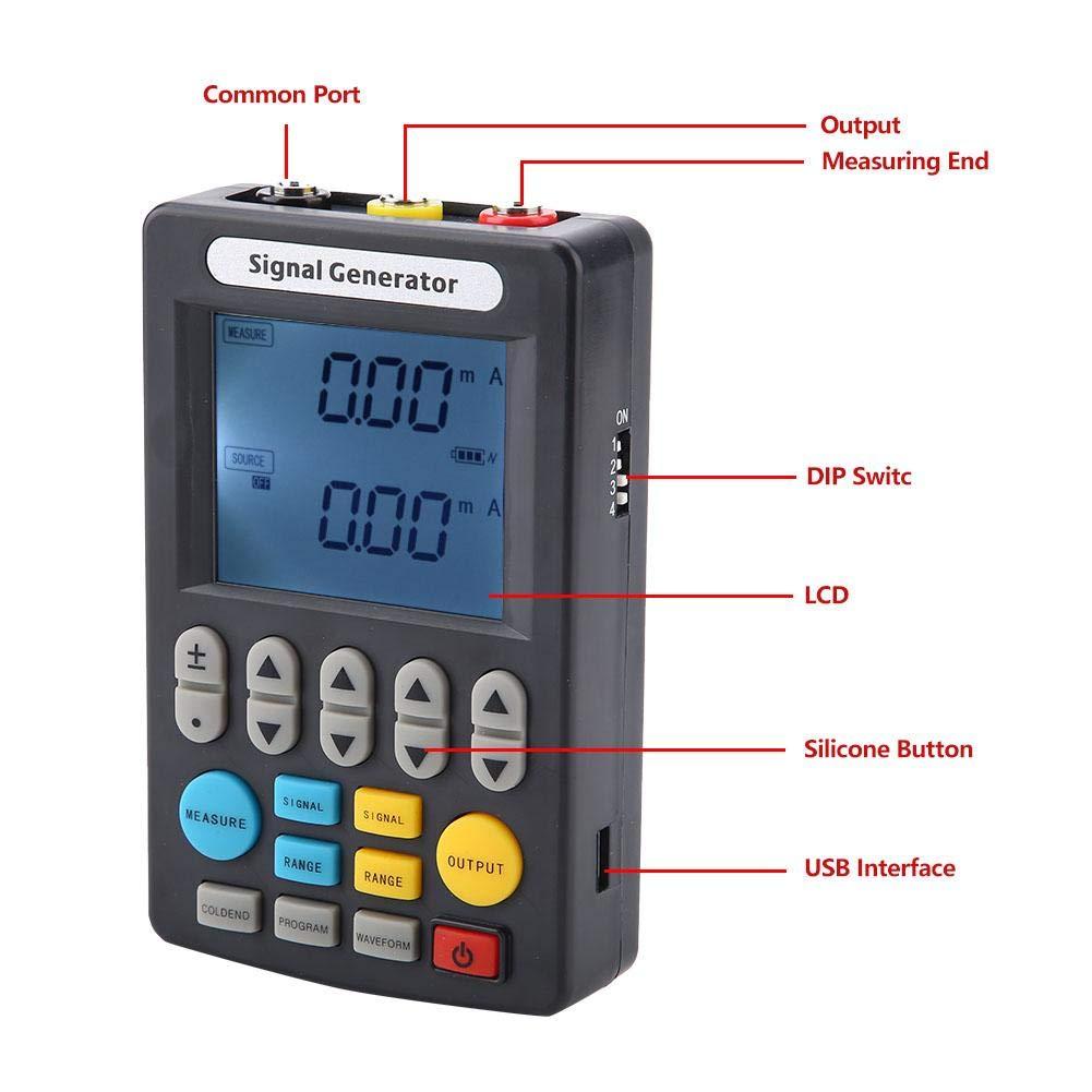 Signal Generator SIN-C702 Handheld HD Digital Display Signal Generator for Laboratory 0-10V(US Plug) by Akozon (Image #5)