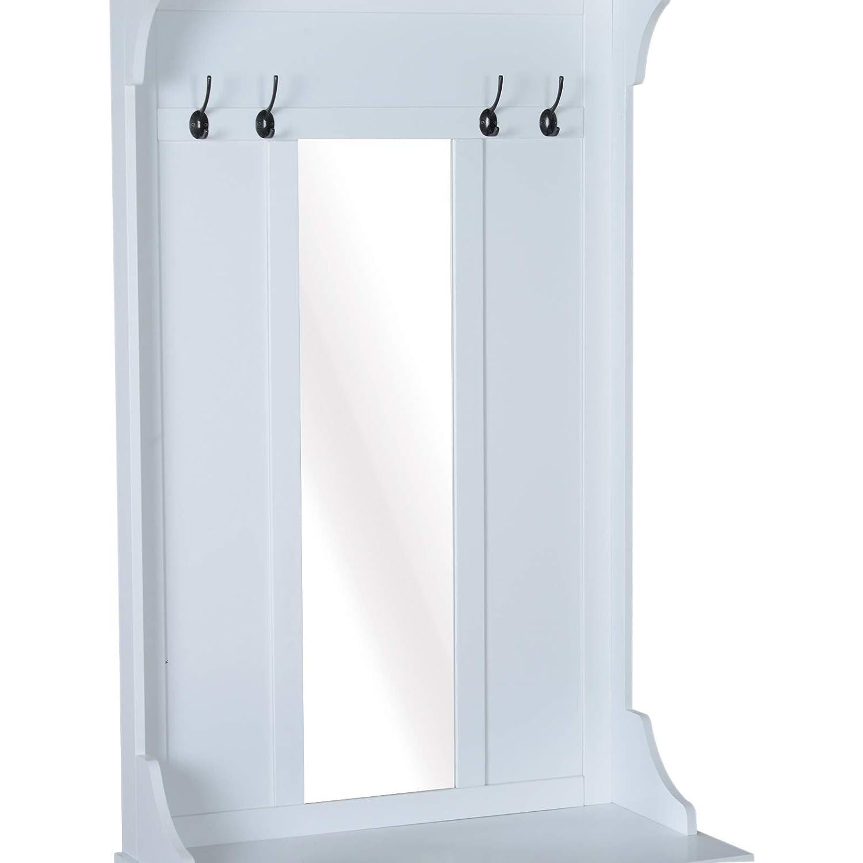 Espejo rectangular y alargado