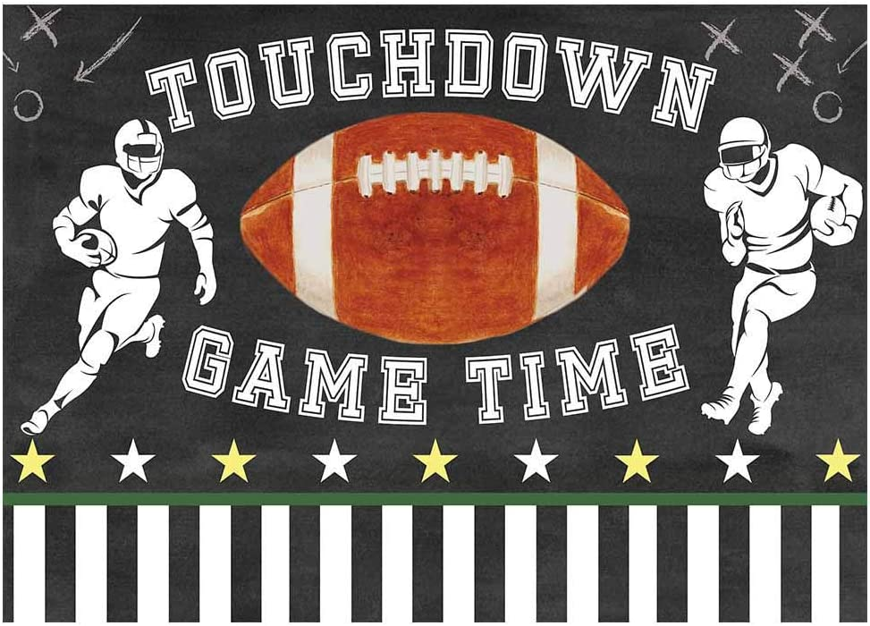 Aosto Photography Backdrops Birthday Party Baby Shower Decor Banner Photo Background Boys Football Game Stadium BackdropXT-7715