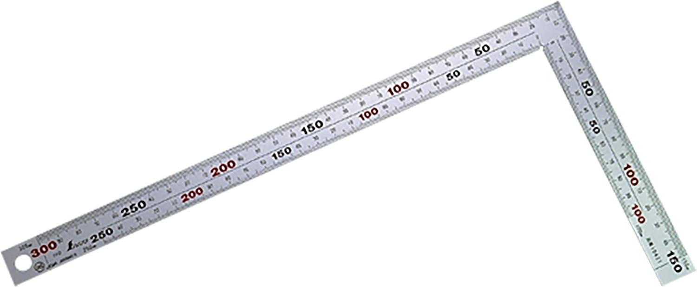 シンワ測定(Shinwa Sokutei) 厚手広幅 シルバー 30cm 10421