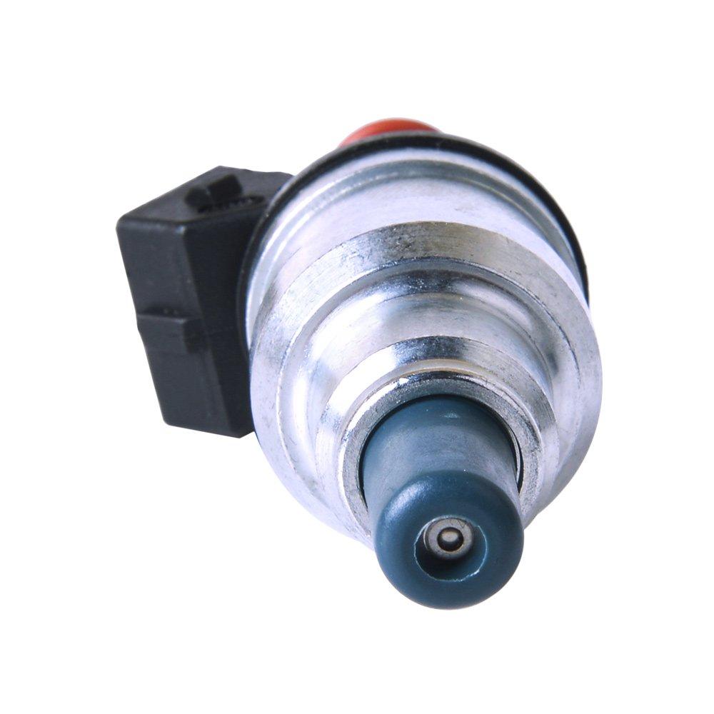 spsoner REMANUFACTURADO inyectores de combustible 550 cc para B16 B18 B20 D16 D18 F22 H22 H22 A 12ohms 12 V Kit de inyección de combustible boquilla de Alto ...