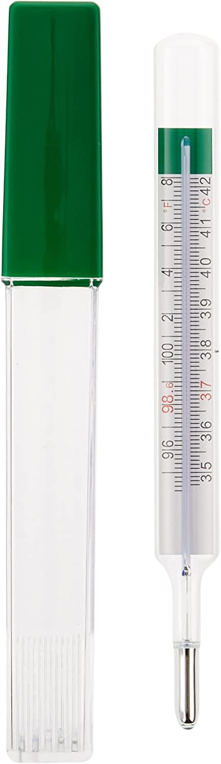 Geratherm Mercury Free Oral Glass Thermometer: Health & Personal Care