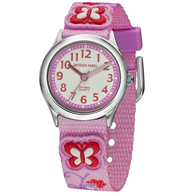 Jacques Farel Girls Watch Hcc3132 Armband- & Taschenuhren