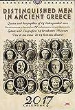 Greek Wall Calendar 2017: Distinguished men in ancient Greece