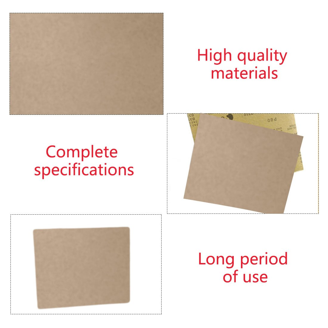 991A Sandpaper Wood Finishing Polishing Musical Instrument Polishing 230*280mm with Grits P3000