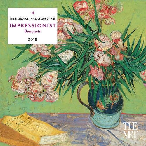 Impressionist Bouquets 2018 Mini Wall Calendar