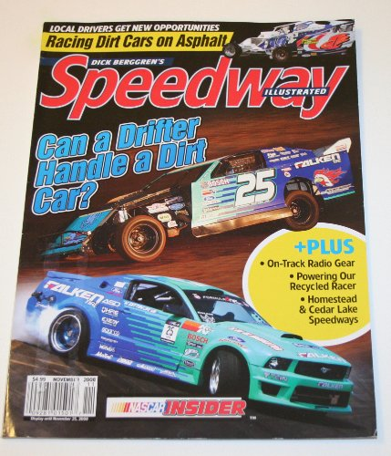 Dick Berggren's Speedway Illustrated Magazine November - Canada Delivery Mail Times