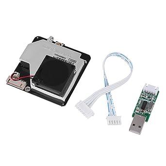 Sensor de Polvo de Laser Módulo de Detector de Polvos Probador de Partículas de Aire PM2