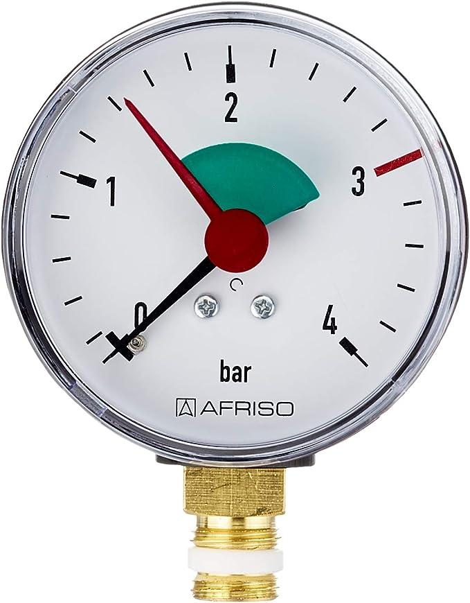 Sanitop Wingenroth 27169 1 Rohrfeder Manometer Anschluss Von Unten 1 4 Zoll Baumarkt